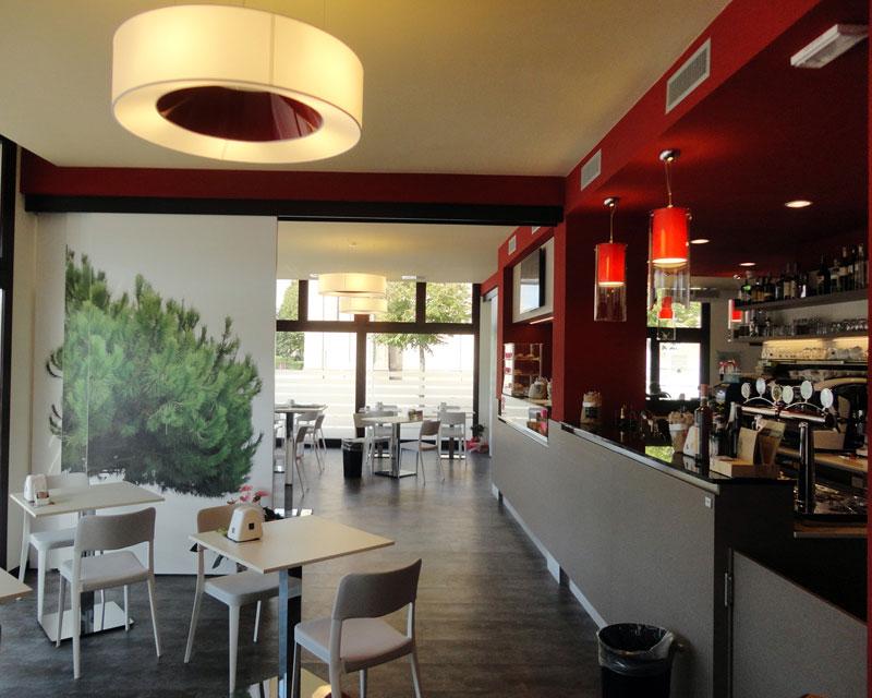 Bar Centrale: bar caffetteria realizzato a Negrisia (Tv)