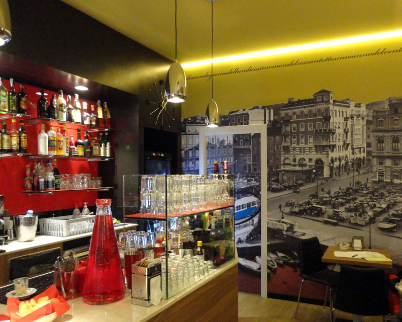 Bar Laila: bar caffetteria realizzato a Trieste