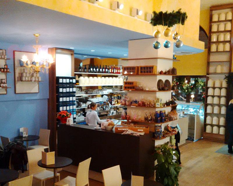 Bon Bon: bar caffetteria realizzata a Trieste
