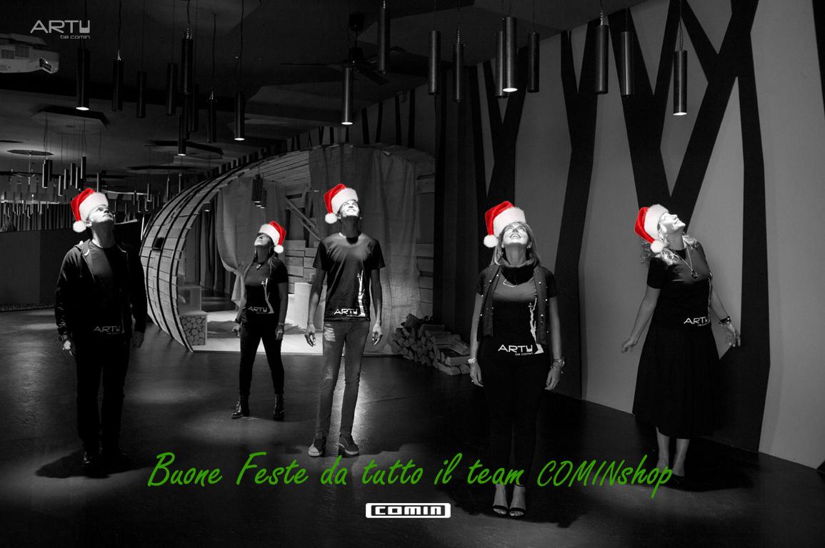 Buone feste da tutto il team COMINshop