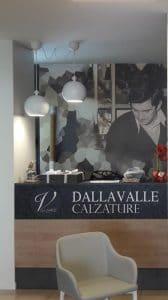 Le origini della famiglia Dalla Valle, negozio di calzature a Vicenza