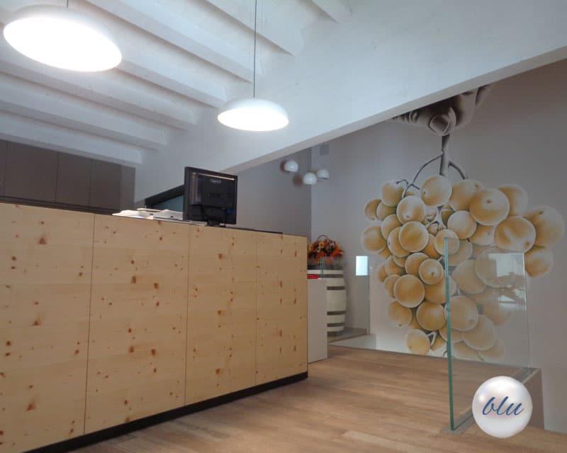Arredo per rivendita e uffici - Cantine Sperandio di San Vendemiano (Tv)