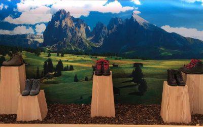 Un negozio sportivo in Val di Fassa, quando le radici fanno la differenza