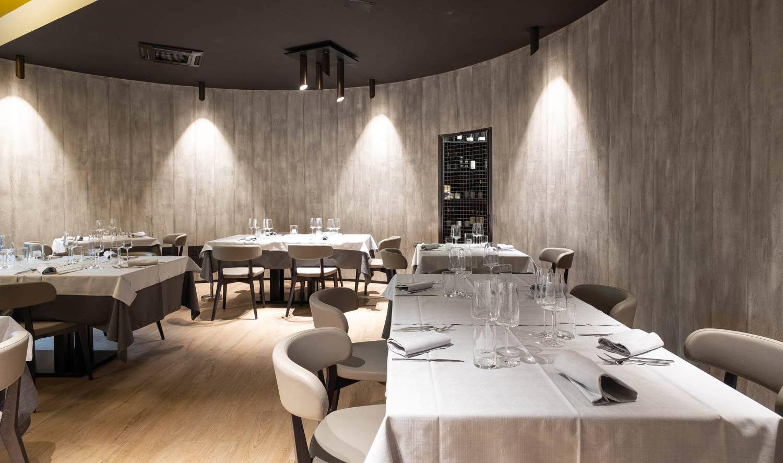 arredamenti per ristoranti, interno sala ristorante, una realizzazione di COMINshop
